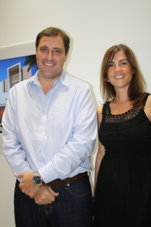 Gonzalo Navarro and Alejandra Buchanan, part of Arx Solutions' team.