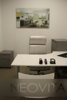 The sales offices look great with the 3D renderings.