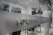 Neovita offices have a contemporary and sleek design.