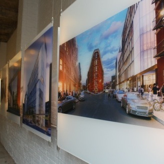 The Taystee Building will become a central feature of the Manhattanville Factory District, connecting West 125th Street to West 126 Street and beyond, by way of landscaped through-block passageways and courtyards.