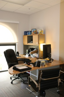 Our offices have the great sunlight that Miami offers.