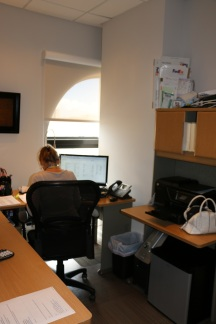 We really feel confortable working in this new space.