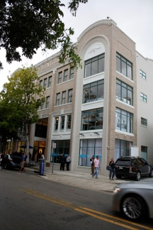 The beautiful Moore Building was built in 1921 as the furniture showroom space for Moore and Sons.